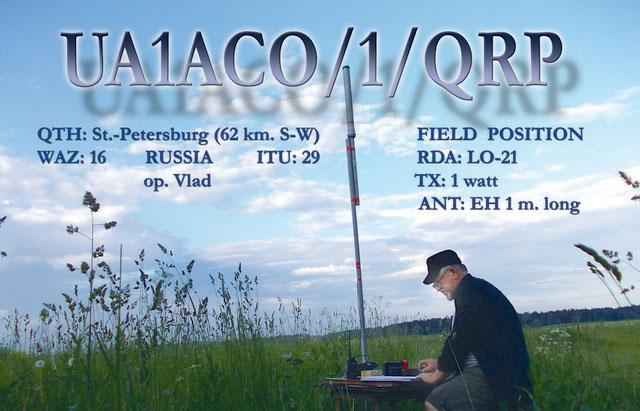 Антенна на диапазон 80 метров Qrp_ua1aco